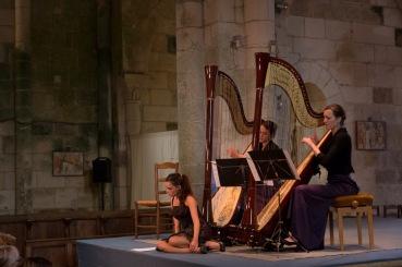 25 Août 2013 Atlantic Harp Duo - Faustine Rousselet © Nicolas Van Ingen
