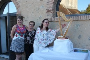 20 08 17 harpe nougatine avec Francine Jamet et Gabriella Dall'Olio ©PV